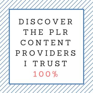 PLR providers